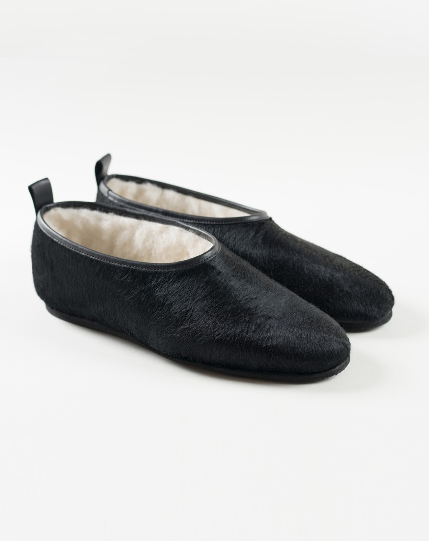 Cowhide Classic Five Star Slippers