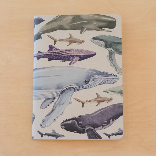 Painted Marine Notebook | Tumbleweed Tees