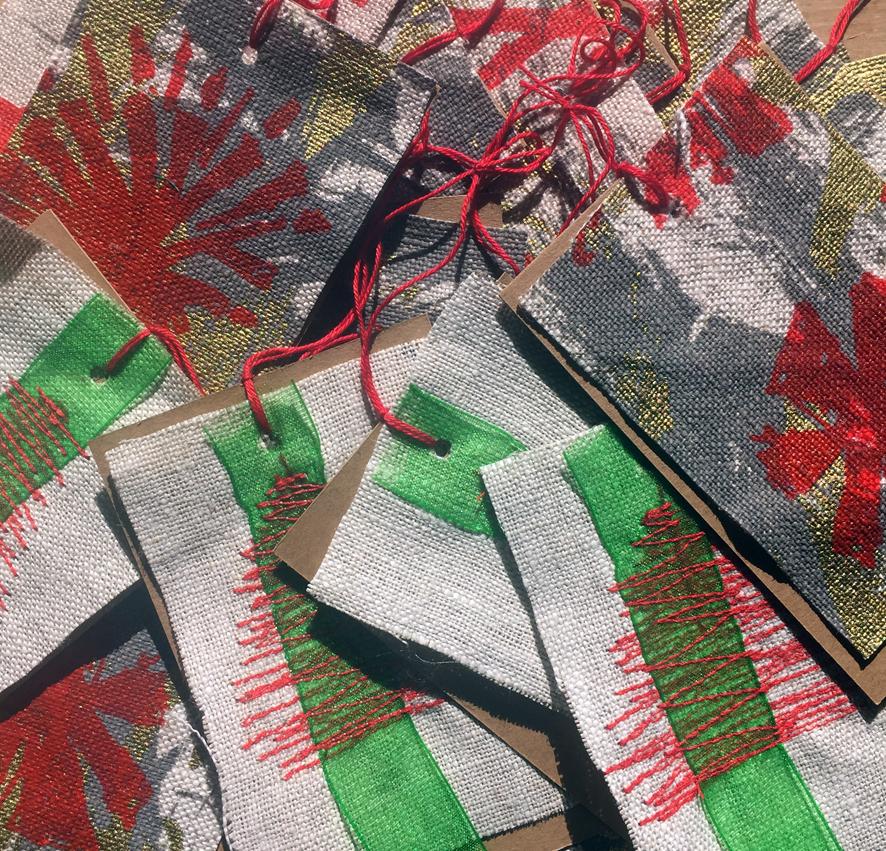 Free handmade gift tags