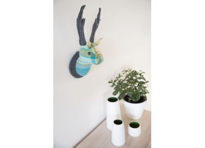 Deer Head Wallhanging